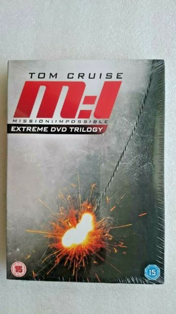 Mission Impossibe,: 1 2 & 3 (DVD 2011 3 -Disc Box Set) - NEW and SEALED